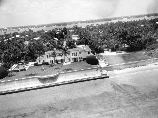 Aerial View Of President Kennedy 39 S Palm Beach Home In 1962