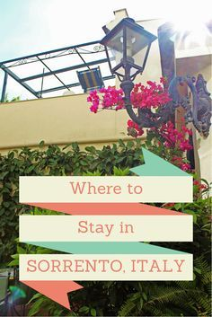Looking for a place to stay in Sorrento Italy, or the Amalfi Coast? Here's a hidden gem: Villa Elisa Sorrento. Read more: http://justinpluslauren.com/where-to-stay-in-sorrento-villa-elisa-sorrento/