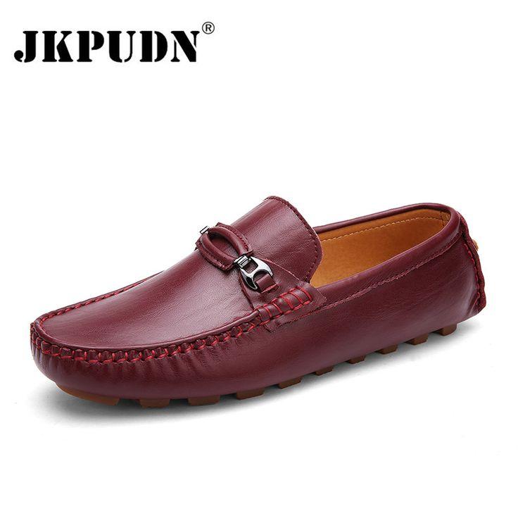 Cheap Cuero genuino de Los Hombres Zapatos Casuales Marca de Lujo 2016 Suavemente Respirables de los Hombres Zapatos de Los Planos de Conducción Zapatos Mocasines Slip On Hombres mocasines, Compro Calidad Pisos de los hombres directamente de los surtidores de China:   bienvenido a nuestrotienda zapatos de los hombres, de los hombres zapatos de cuero, zapatos del dise