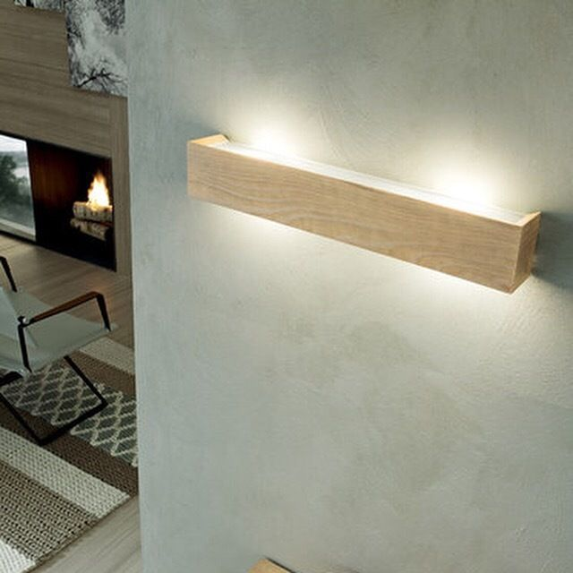 Linea Light Madera Decorative Timber Wall Light. #italstylelightingdesign #walllights #timberlights #decorativewalllights