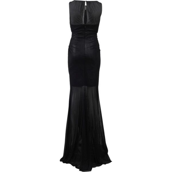 Blumarine Ruched Gown With Silk Inset (65,350 THB) ❤ liked on Polyvore featuring dresses, gowns, metallic evening dress, ruched evening gown, metallic evening gowns, metallic dress and shirred dress