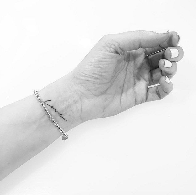 1000 ideas about small wrist tattoos on wrist
