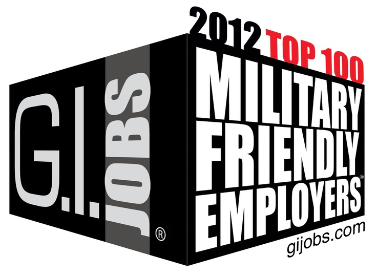 G.I. Jobs Top 100: The Top 100 Military Friendly Employers