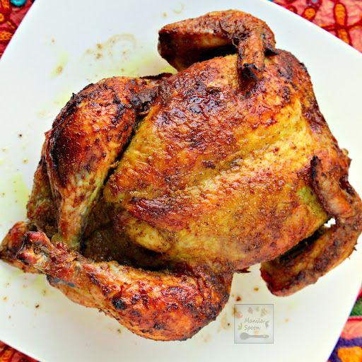 Whole Roast Masala Chicken (Indian-style)