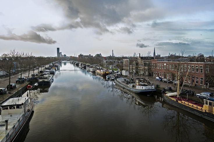Twilight over Leeuwarden