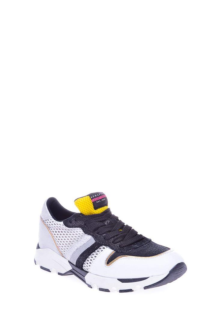 Комбинированные кроссовки оригинального дизайна на толстой подошве http://oneclub.ua/krossovki-34550.html#product_option12