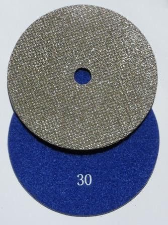 Pool Plaster Diamond Pad 30 Grit is designed to remove heavy scale and over expose marble and quartz pool finishes. Sanding pool plaster with our diamond pads has been around since 1986. Un-like all other Diamond Disc our diamonds are bonded with NON-CORROSIVE material.