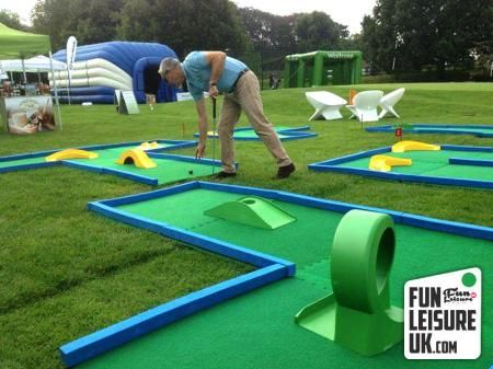 Want some fun & wacky? Try our 9 hole crazy golf course! Perfect corporate entertainment, birthday parties & so much more!