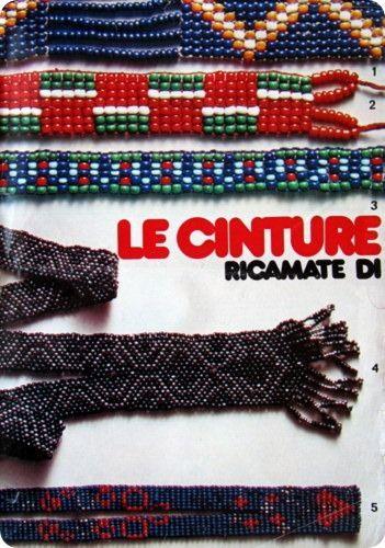 Tutorial Vintage: cinture di ricamate di perline