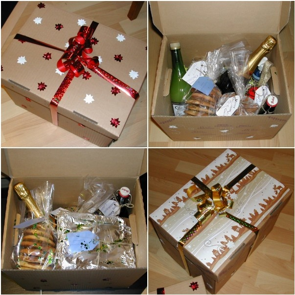 Christmas Cake Hamper Ideas : 1000+ images about hamper ideas on Pinterest Hampers ...