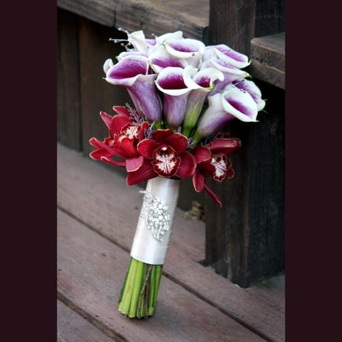 Orchid Bouquet, Bouquet, Cymbidium Orchids