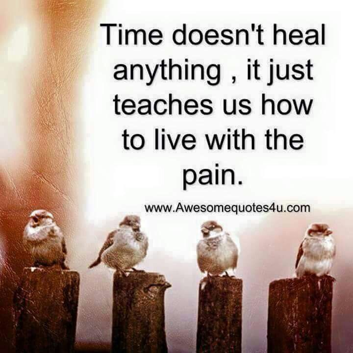 ...the pain that is always present.