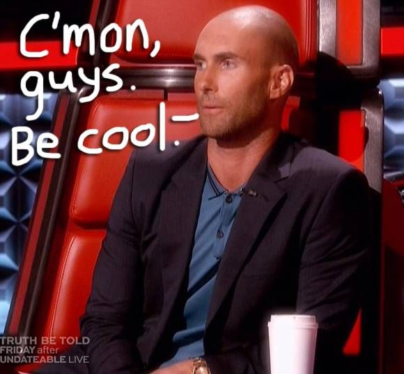 Adam Levine Debuted His Shaved Head On The Voice & Blake Shelton (And Twitter) Had A Field Day! See ALL THE MEMES!