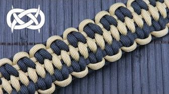 How to Make a Trilobite Jawbone Paracord Bracelet Tutorial - YouTube