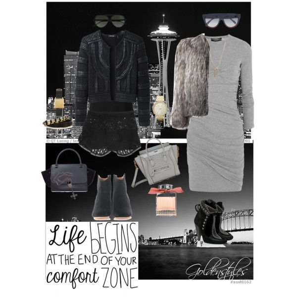 60th of 100 clothing inspiration - black and grey