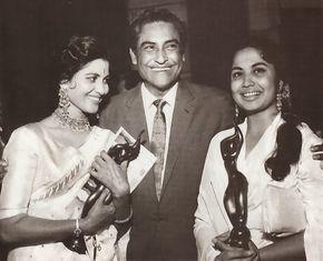 Shashikala # Ashok Kumar & Meena Kumari