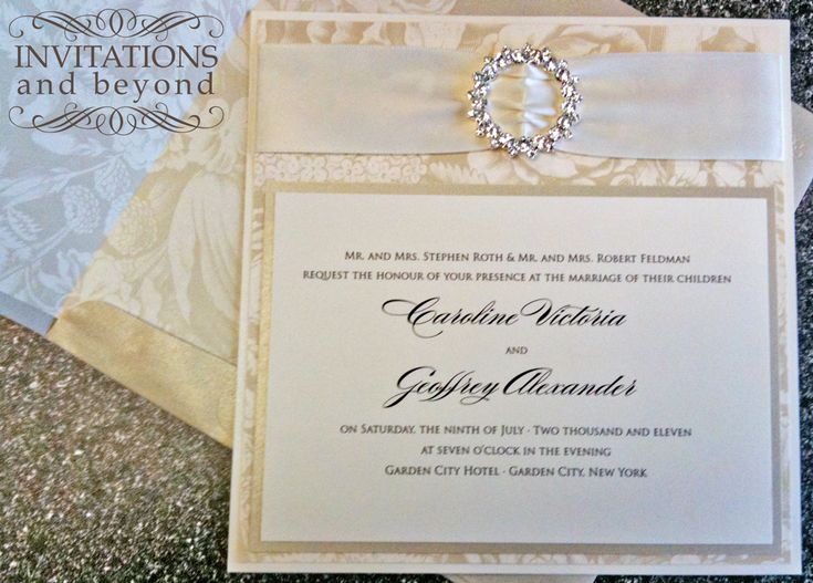 Bling Wedding Invitations 027 - Bling Wedding Invitations