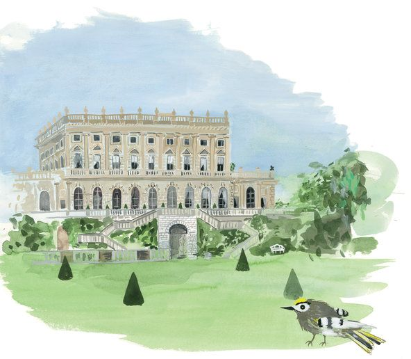 Cliveden House (Illustration by Konstantin Kakanias)