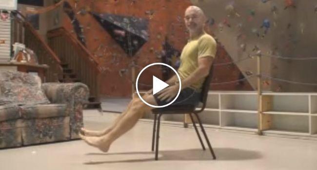 Como Passar Por Baixo De Uma Cadeira Sem Tocar Com Os Pés No Chão