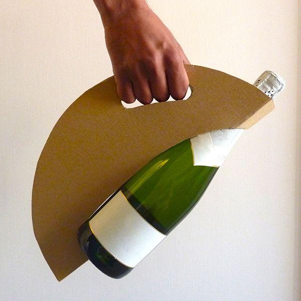 """Oh! """"Embalaje botella Circular"""" en Behance"""