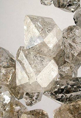 Quartz Herkimer Diamond from Ace of Diamonds Mine .. Middleville, New York, USA