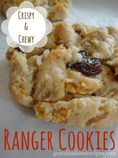 The best part about these Ranger Cookies is that they are crispy and crunchy and chewy all at the same time!