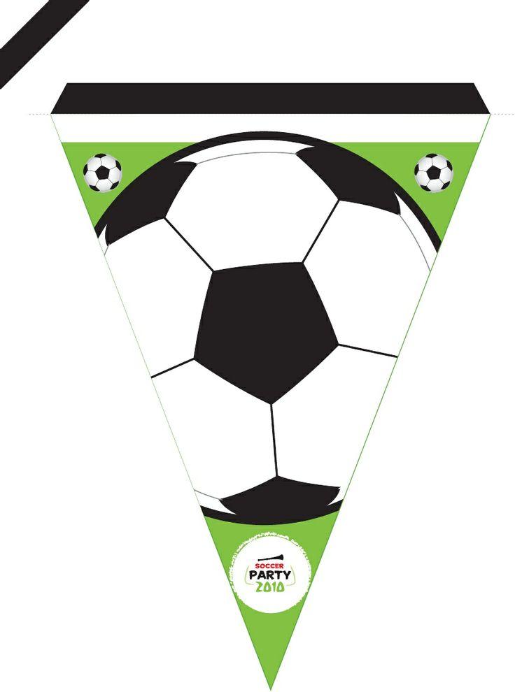 Kids Soccer Party printables