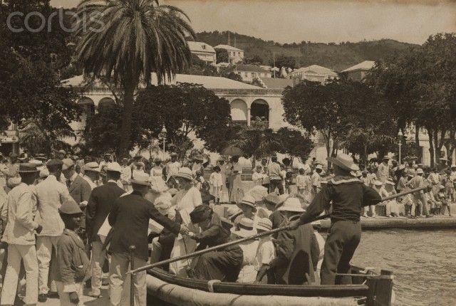 Feb 1, 1922, St. Thomas, US Virgin Islands