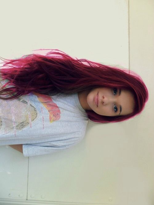 New hair colour maybe?