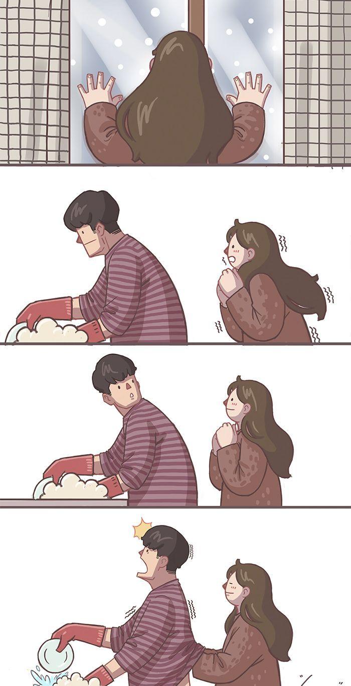 D Adorables Illustrations De Couple Qui Vous Donneront Des