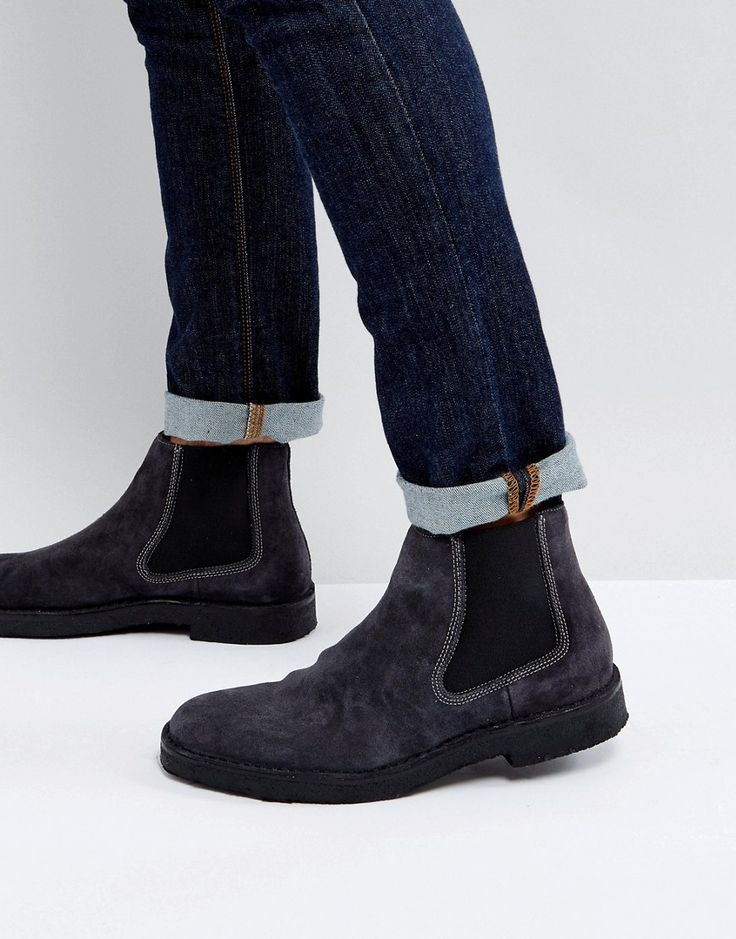 how to clean suede boots that got wet