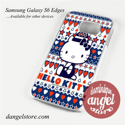 hello kitty cute aztec Phone Case for Samsung Galaxy S3/S4/S5/S6/S6 Edge Only $10.99