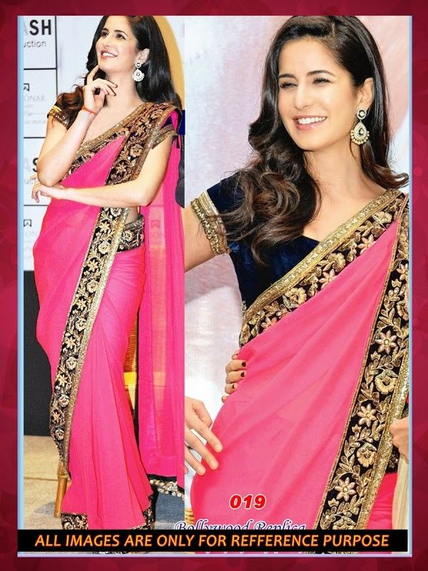 "Buy Katrina Kaif Bollywood Saree    Mobile Booking/What's Up/ Product Code ""Sty508"" to Order +919751633633 Free COD/Shipping in India !! Email us at- shop@migtab.com"