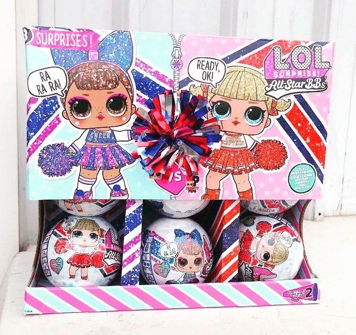 Lol Surprise All Star Bbs Series 2 Sheerleaders Cheer Team Lol Lol Dolls