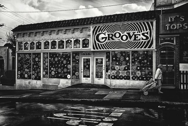 Grooves record store, San Francisco.
