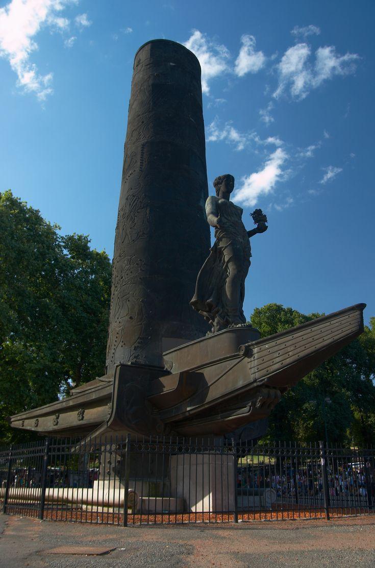 Monumento A La Cordialidad Argentina-Uruguaya, en Parque Lezama. Ciudad Autonoma de Buenos Aires, Argentina