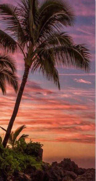 Hawaii - západ slunce