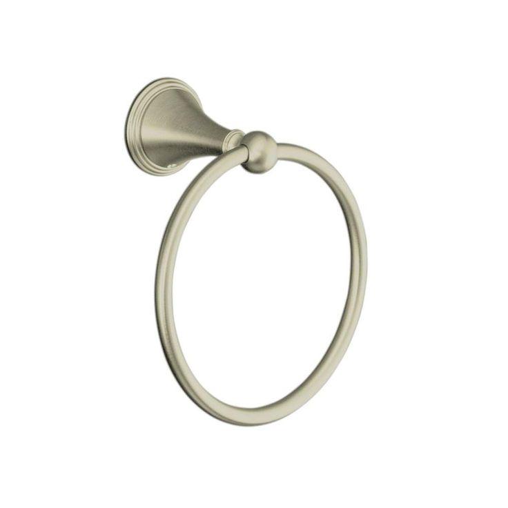 KOHLER Finial Traditional Towel Ring in Vibrant