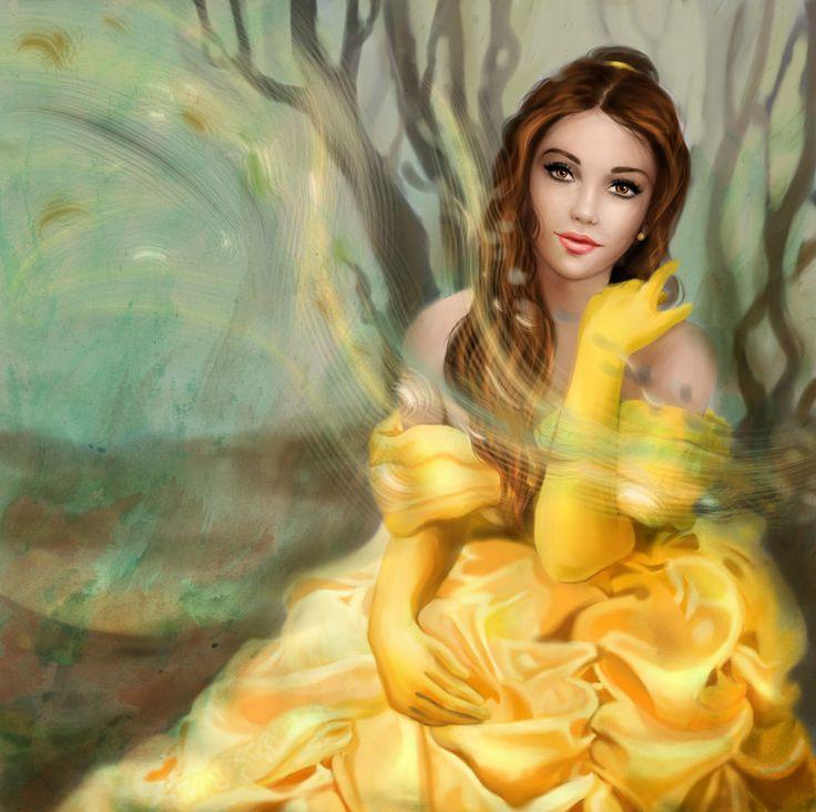 Belle by ~MartaDeWinter on deviantART ~ Beauty & The Beast ~ Disney