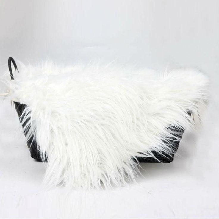 Baby Faux Fur Swaddle Blanket