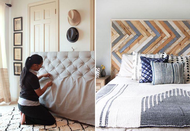 Drømmer du om en smuk sengegavl, der ikke koster alverden? Pift dit soveværelse op med et personligt hovedgærde, du selv kan lave til få penge. Her får du 13 smukke DIY sengegavle til inspiration!