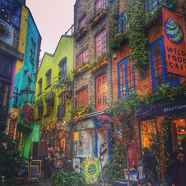 Neal's Yard, Seven Dials, Covent Garden, London, England