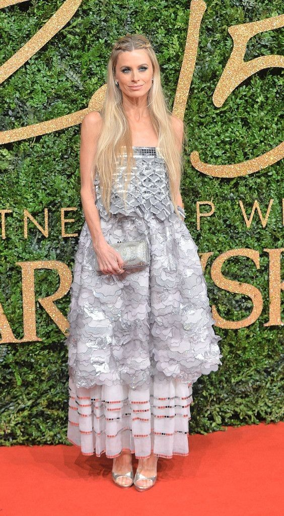 Laura Bailey in British Fashion Awards 2015 - Red Carpet Arrivals - Celebrity Fashion Trends