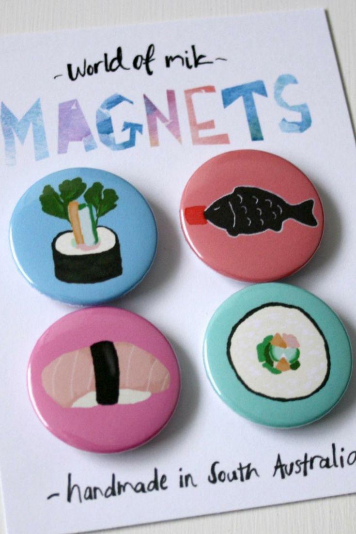 Sushi magnets ❤️🍣