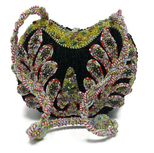 Mary Frances Heart Handbag Purse