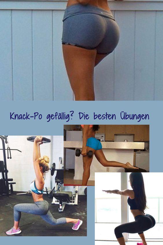 Po in Best-Form! Hier gibt's Übungen für einen sexy Knack-Po: http://www.gofeminin.de/sport/workout-knack-po-s1470177.html #fitness #po-workout