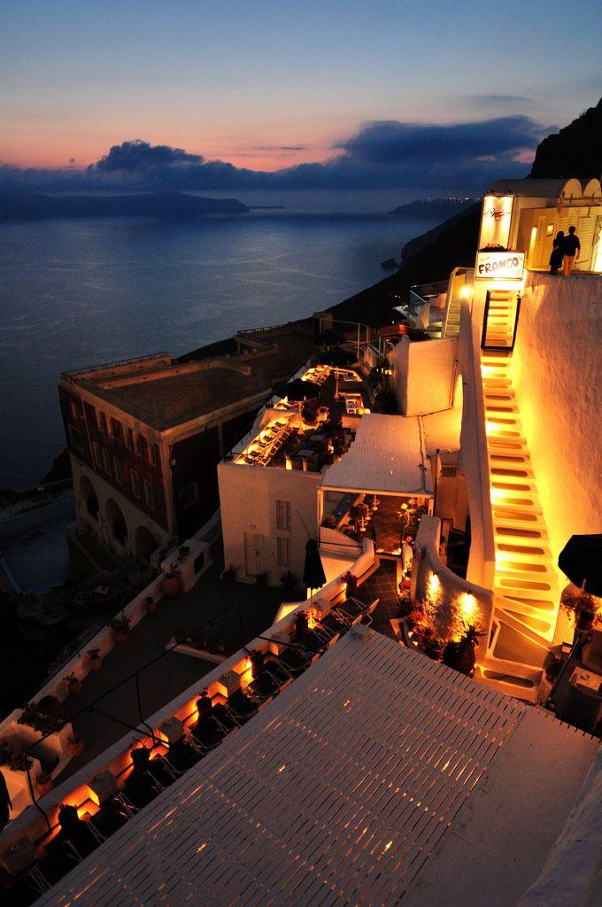 Franco's Bar, Fira, Santorini