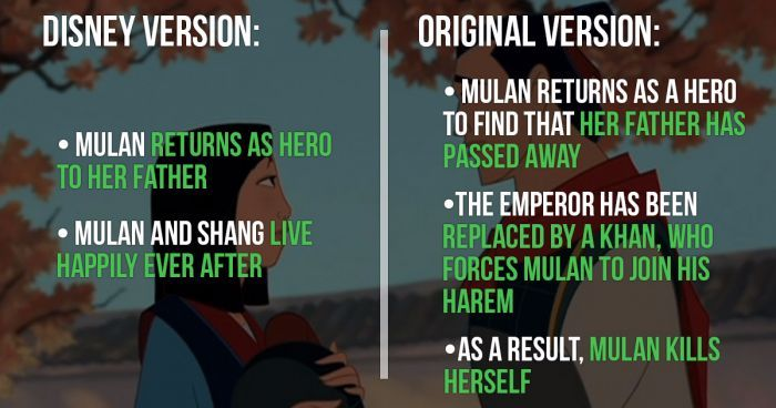 The Original Versions Of Your Favorite Disney Movies Will Definitely Ruin Your Childhood