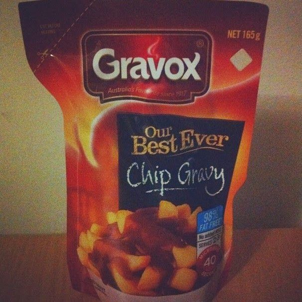 """Who doesn't like Chips & Gravy? Gravox now have their own """"Best Ever Chip Gravy"""" which you can use at home to serve with your family faves. This review had me drooling!  http://outback-revue.blogspot.com.au/2015/02/gravox-best-ever-chip-gravy.html"""