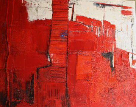 'Aufbruch' von Claudia Neubauer bei artflakes.com als Poster oder Kunstdruck $5.94
